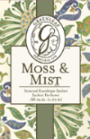 Greenleaf Small Scented Sachet - Moss & Mist