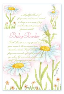 BABY POWDER - WILLOWBROOK SCENTED SACHET