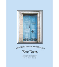 Bridgewater Candle Company Blue Door  Scented Envelope Sachet