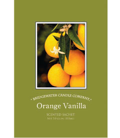 Bridgewater Candle Company Orange Vanilla Scented Envelope Sachet