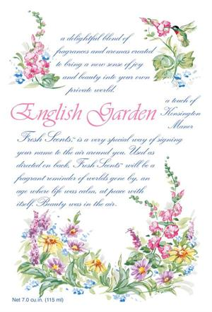 ENGLISH GARDEN - WILLOWBROOK SCENTED SACHET