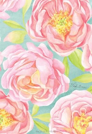 FRESH CUT PEONIES - WILLOWBROOK SCENTED SACHET