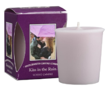 Kiss in the Rain Boxed Votive Candle