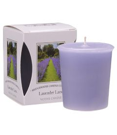 Lavender Lane  Boxed Votive Candle