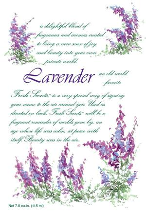 LAVENDER - WILLOWBROOK SCENTED SACHET