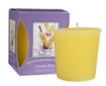 Lemon Pop Boxed Votive Candle