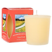 Open Road Boxed Votive Candle