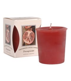 Pomegranate Boxed Votive