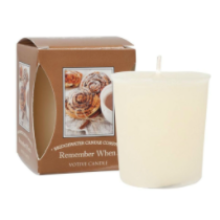 Remember When  Boxed Votive Candle