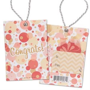 Scented Gift Tag - Congrats
