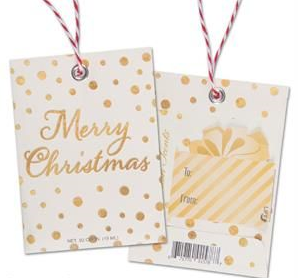 Scented Gift Tag - Merry Christmas