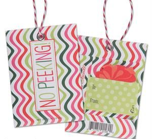 Scented Gift Tags - No Peeking