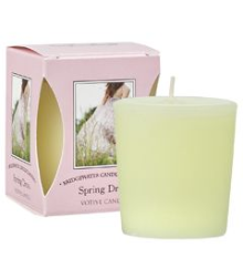 Spring Dress Boxed Votive Candle