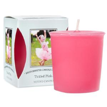 Tickled Pink Boxed Votive Candle